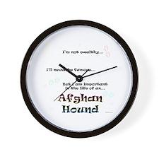 Afghan Life Wall Clock