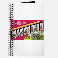 Mansfield Ohio Greetings Journal