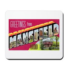 Mansfield Ohio Greetings Mousepad