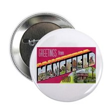 """Mansfield Ohio Greetings 2.25"""" Button (10 pack)"""