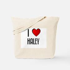 I LOVE HALEY Tote Bag