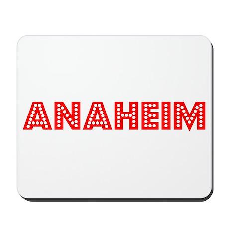 Retro Anaheim (Red) Mousepad