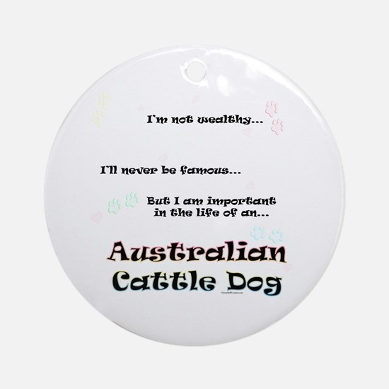 ACD Life Ornament (Round)