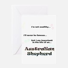 Aussie Shepherd Life Greeting Card