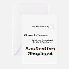 Aussie Shepherd Life Greeting Cards (Pk of 10)