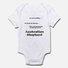 Aussie Shepherd Life Infant Bodysuit