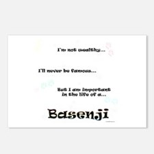 Basenji Life Postcards (Package of 8)