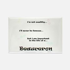 Beauceron Life Rectangle Magnet