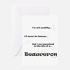 Beauceron Life Greeting Card