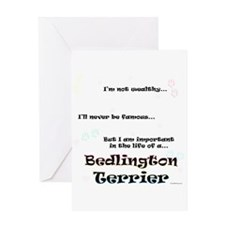 Bedlington Life Greeting Card