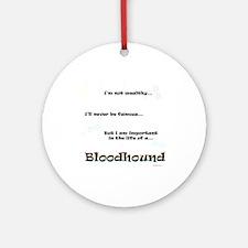 Bloodhound Life Ornament (Round)