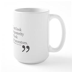Look Backward Mug