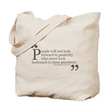 Look Backward Tote Bag