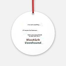 Bluetick Life Ornament (Round)