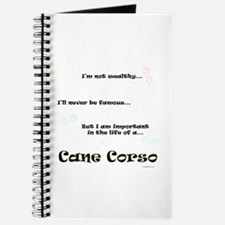 Cane Corso Life Journal