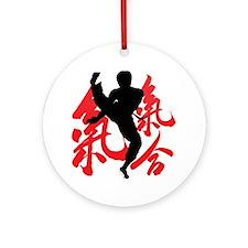 Kick Ornament (Round)