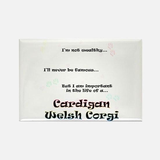 Cardigan Life Rectangle Magnet