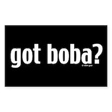 Got Boba? Rectangle Decal