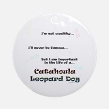 Catahoula Life Ornament (Round)