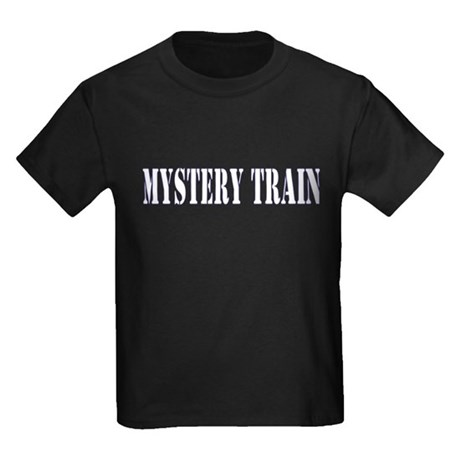 MYSTERY TRAIN Kids Dark T-Shirt