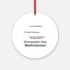 Chessie Life Ornament (Round)
