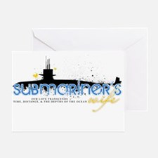 Submariner's Wife Greeting Card