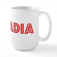 Retro Arcadia (Red) Mug