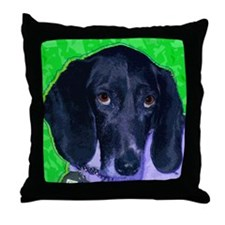Loveable Mutts Throw Pillow