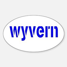 WYVERN Oval Decal