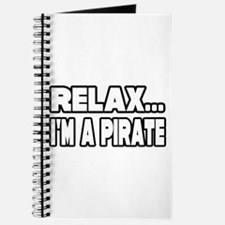 """""""Relax, I'm A Pirate"""" Journal"""