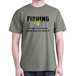 Fishing Fun Dark T-Shirt