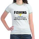 Fishing Fun Jr. Ringer T-Shirt