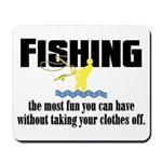 Fishing Fun Mousepad