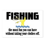 Fishing Fun Postcards (Package of 8)