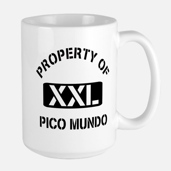 Property of Pico Mundo Large Mug
