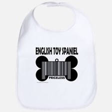 ENGLISH TOY SPANIEL PRICELESS Bib