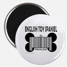 ENGLISH TOY SPANIEL PRICELESS Magnet