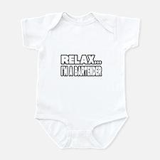 """""""Relax, I'm A Bartender"""" Infant Bodysuit"""