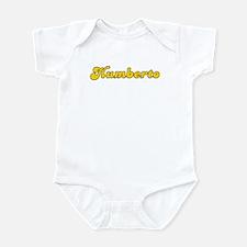 Retro Humberto (Gold) Infant Bodysuit