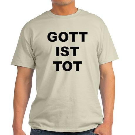 GOTT IST TOT Light T-Shirt