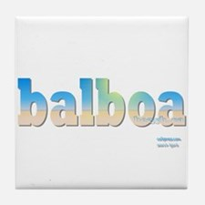 Unique Balboa Tile Coaster