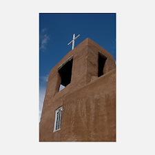 Rancho de Taos Church Rectangle Decal