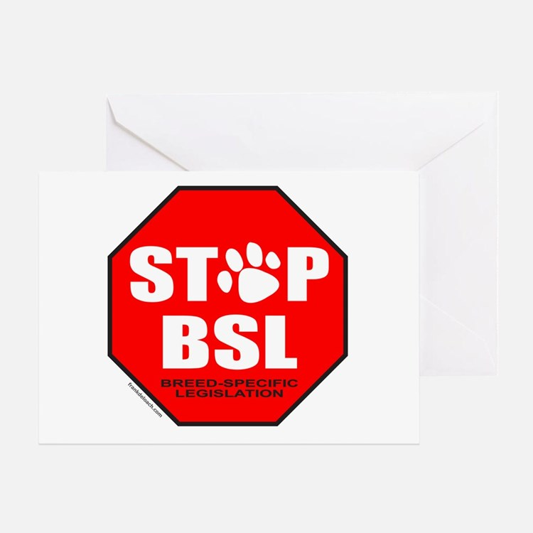 STOP BSL Greeting Card