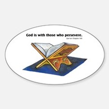 Qur'an Oval Decal