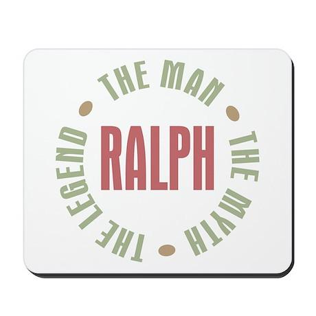 Ralph Man Myth Legend Mousepad