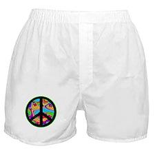 Peace Sign Boxer Shorts