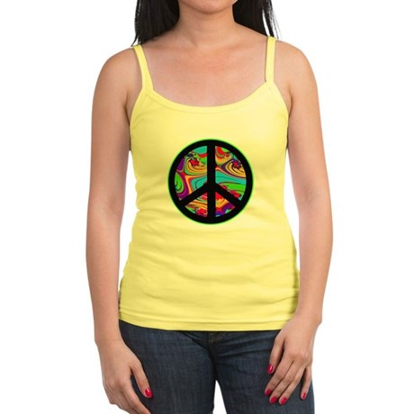 Peace Sign Jr. Spaghetti Tank