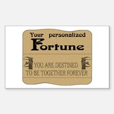 Fortune Card Rectangle Decal