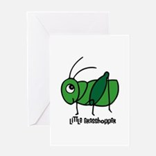 Little Grasshopper Greeting Card