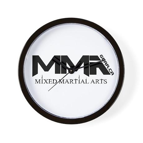 MMA Gear.ca Black Wall Clock